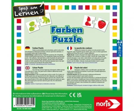 noris_spiele Color puzzle