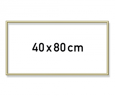 Aluminium frame 40 x 80 cm