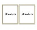schipper Aluminium frame diptych 50 x 80 cm