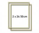 schipper 2 Aluminium frames 24 x 30 cm