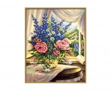 schipper Blumen am Fenster Malen nach Zahlen