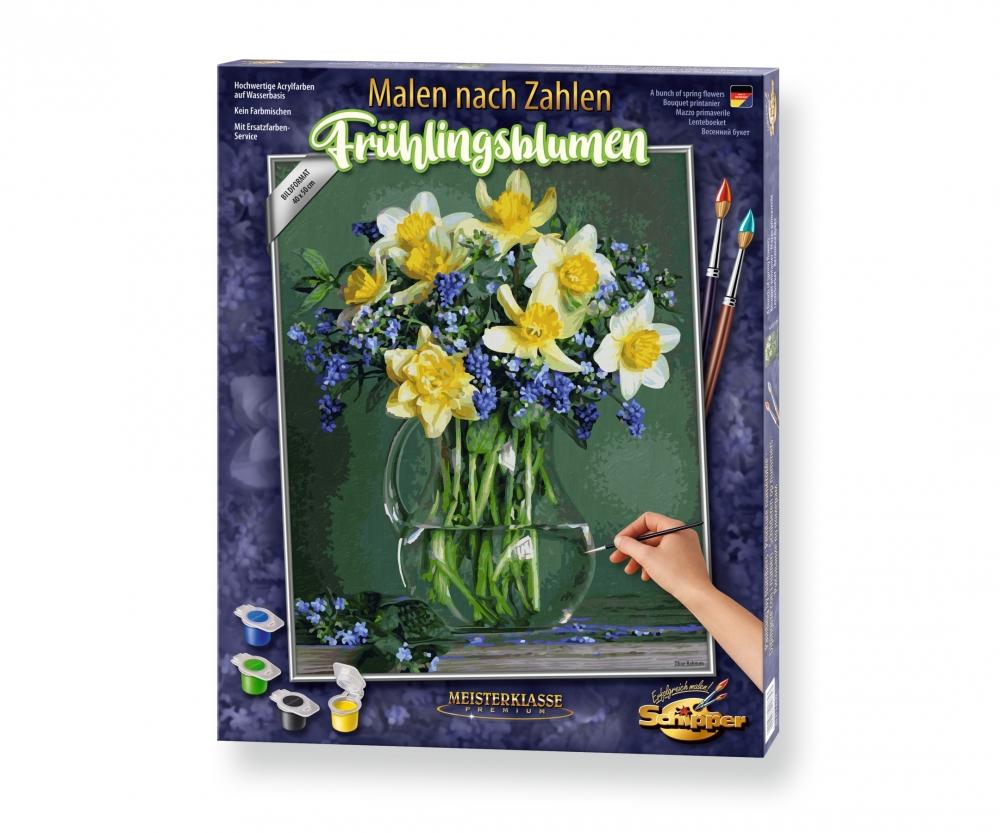 frühlingsblumen - blumen und pflanzen - malthemen - www