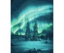 schipper Polarlichter Malen nach Zahlen Vorlage