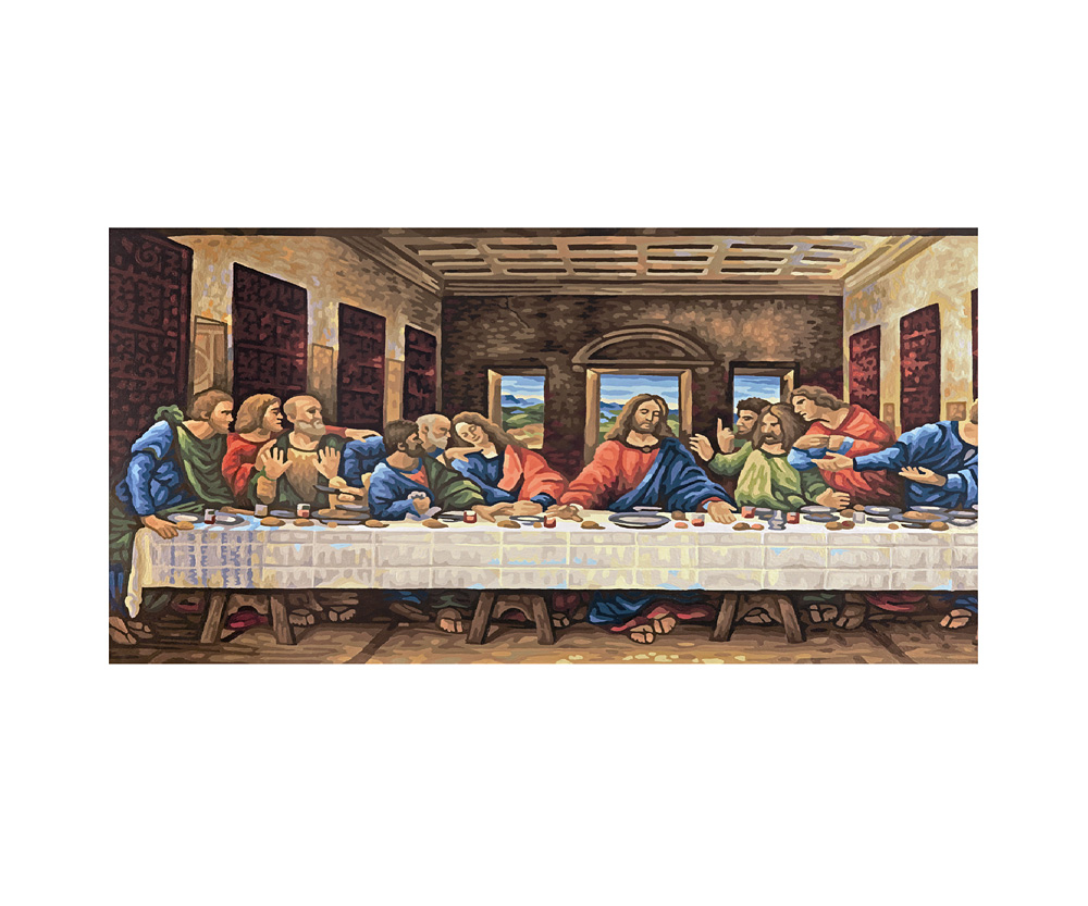 The Last Supper - Landscape format 40 x 80 cm - Picture
