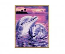 schipper Delfine Malen nach Zahlen