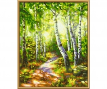 Small Birch Tree Wood