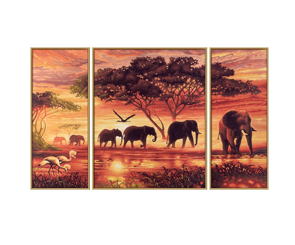 Triptychon cm dimensioni del quadro