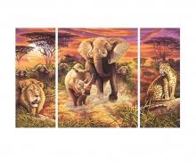 schipper Afrika – Die großen Fünf Malen nach Zahlen
