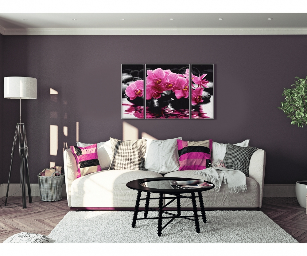 orchideen blumen und pflanzen malthemen. Black Bedroom Furniture Sets. Home Design Ideas