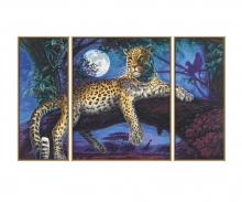 schipper Jäger in der Nacht Leopard Malen nach Zahlen