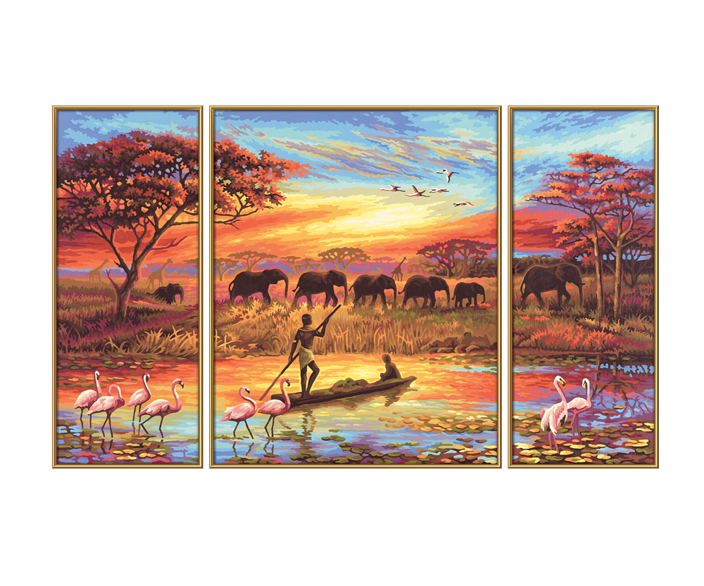 Landschaften malthemen www.malennachzahlen schipper.com