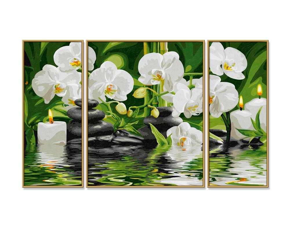 Wellness-Oase - Triptychon 50 x 80 cm - 3-teilig - Bildformate - www ...