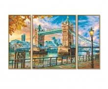 schipper London Tower Bridge Malen nach Zahlen