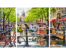 schipper Amsterdam Malen nach Zahlen