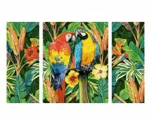 schipper Papageien im Regenwald Malen nach Zahlen