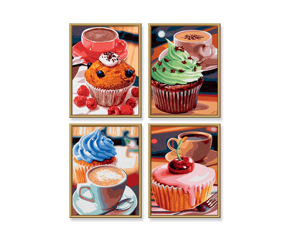 Cupcakes - Quattro 18 x 24 cm - Bildformate - www.malennachzahlen ...
