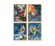 Oiseaux d'hiver