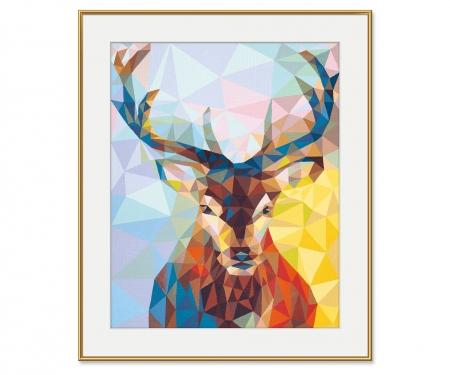 schipper Stag – Polygon-Art