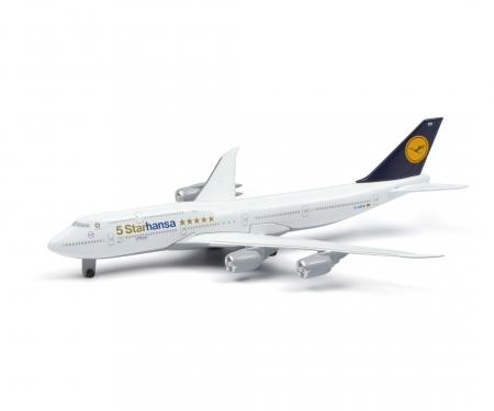 """schuco Lufthansa """"5 Starhansa"""", B-747-8 1:600"""