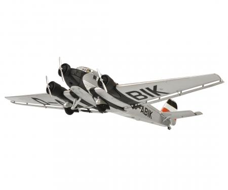"""schuco Junkers Ju52/3m """"Manfred von Richthofen"""", silver, 1:72"""