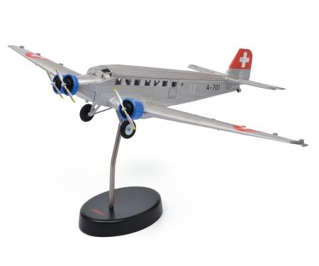 schuco Junkers Ju 52/3m, silver 1:72