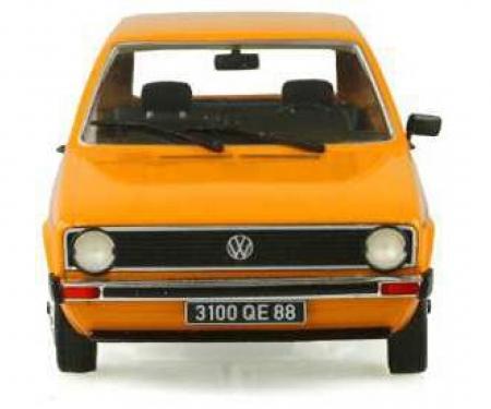 schuco 1:18 VW Golf I CL, Orange, 1974