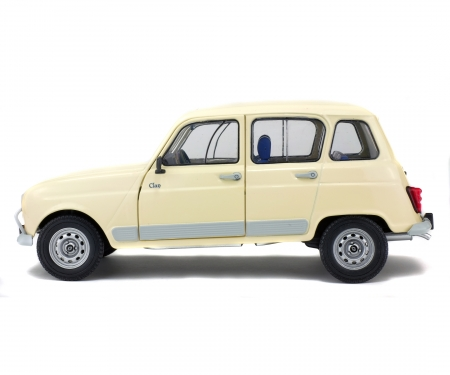 schuco 1:18 Renault 4L GTL, beige, 1978