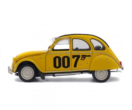 "1:18 Citroën 2CV6 ""007"", yellow, 1981"