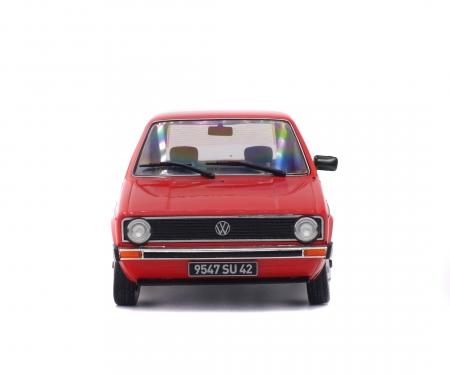 schuco 1:18 VW Golf I, red, 1983
