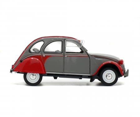 1:18 Citroën 2CV6 Dolly, grey-red, 1985