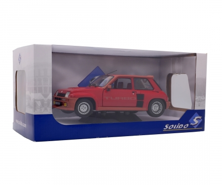 schuco 1:18 Renault R5 Turbo 1, red, 1982