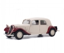 1:18 Citroën Traction 11CV, beige bordeaux, 1938