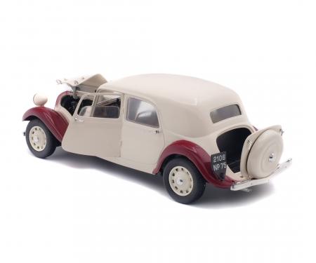 1:18 Citroën Traction 11CV, beige bordeaux, 1938