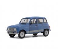 """schuco 1:18 Renault 4 GTL """"Clan"""", blue, 1984"""