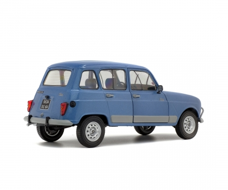 "1:18 Renault 4 GTL ""Clan"", blue, 1984"