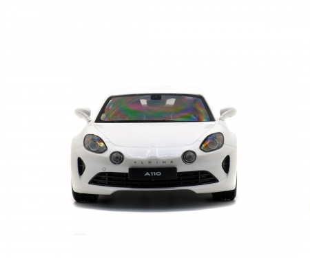schuco 1:18 Alpine A110 Prime Edition, white, 2017