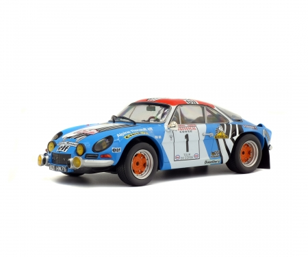 schuco 1:18 Alpine A110 1800S #1, Tour de Corse, 1973