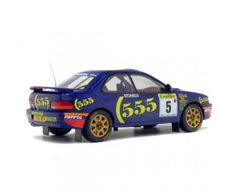 schuco 1:18 Subaru Impreza #5, Rallye Monte Carlo, 1995