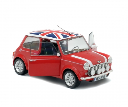 "1:18 Mini Cooper Sport ""Union Jack"", red, 1997"
