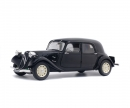 schuco 1:18 Citroën Traction IICV, black, 1937