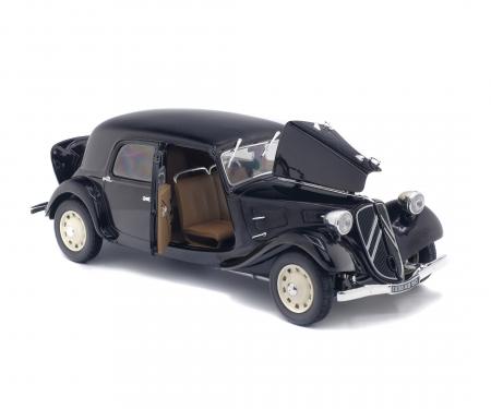 schuco 1:18 Citroën Traction IICV, black, 1937