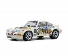 """schuco 1:18 Porsche 911 Carrera 2.8 RSR """"Le Grand Bazar"""", 1973"""