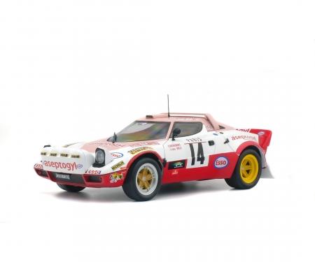 schuco 1:18 Lancia Stratos GR4 Rallye Monte-Carlo