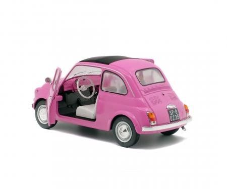 schuco 1:18 Fiat 500 L, pink, 1969