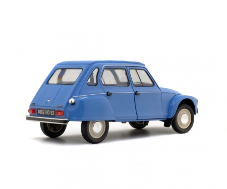 1:18 Citroen Dyane, blue, 1967