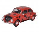 schuco 1:18 VW Beetle 1303 Lady Bug