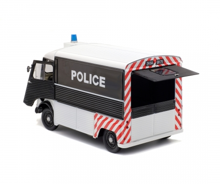 schuco 1:18 Citroën HY POLICE (1969)
