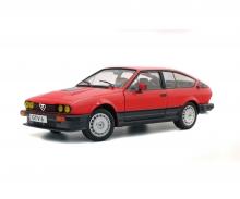 schuco 1:18 Alfa GTV6, red, 1984