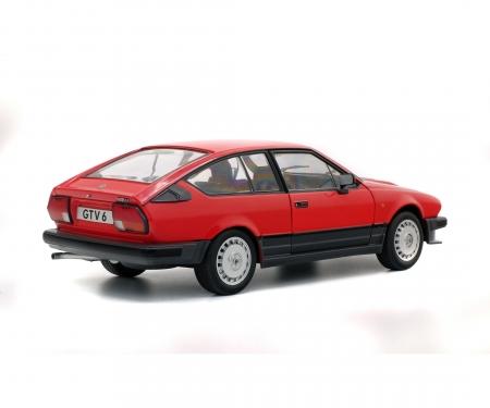 schuco 1:18 Alfa GTV6, rot, 1984