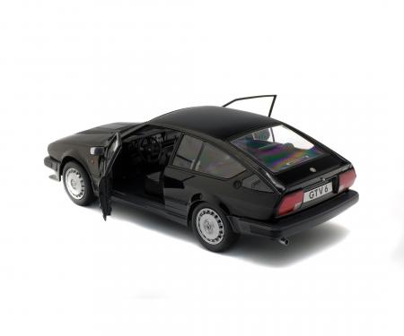 schuco 1:18 Alfa GTV6, black, 1984